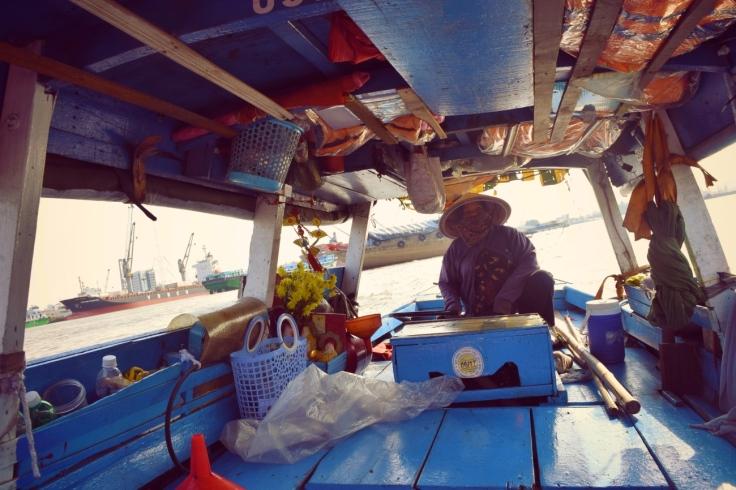 Wasser Taxi Saigon Vietnam