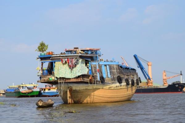 Hausboot Vietnam
