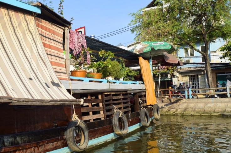 Hausboot Saigon Vietnam