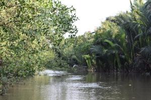 Fluss Ho-Chi-Minh City Vietnam